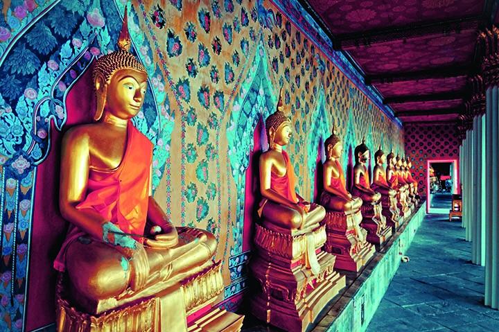 Галерея в храме Ват Арун  (Храм зари), Бангкок