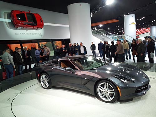 Chevrolet Corvette - витрина автомобильной Америки