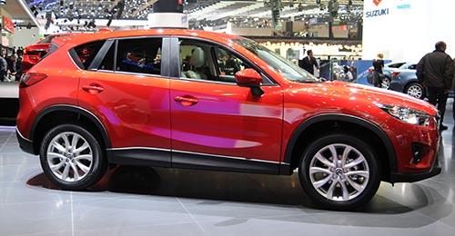 Последние кроссоверы японской Mazda - продукт глобализации авторынка