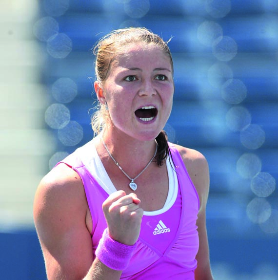 NY: DINARA SAFINA VS ROBERTA VINCI AT US OPEN