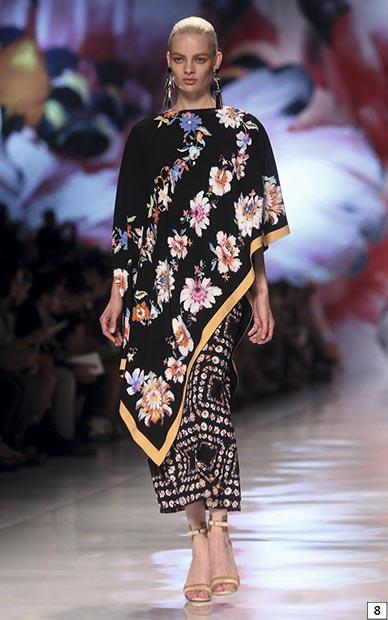 Показ коллекции Etro на неделе моды в Милане