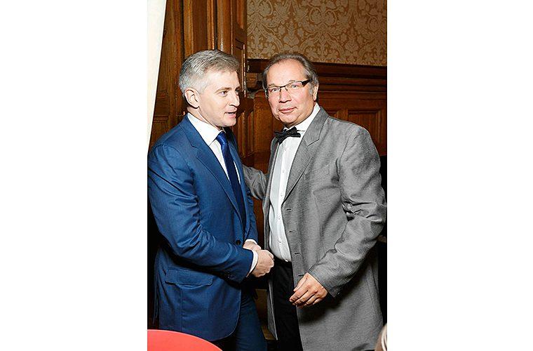 Александр Кибовский и Юрий Розум