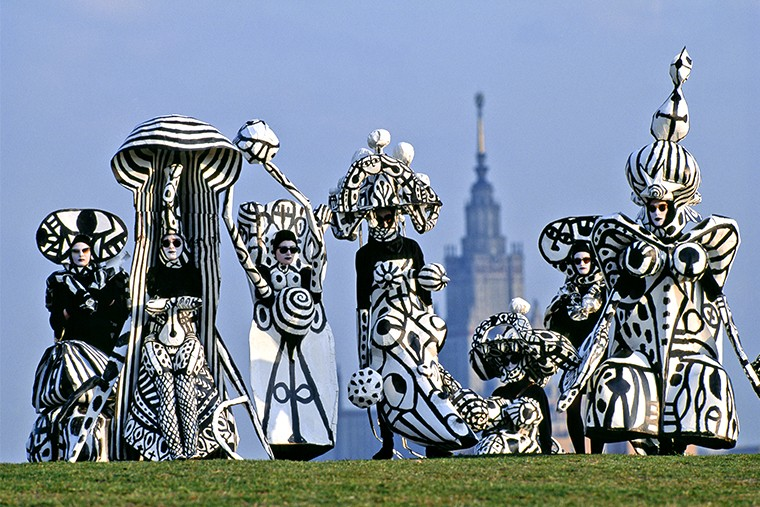 Botanic ballet, 1992, Moscow