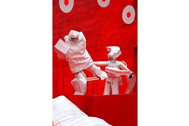 Ladder of the red New York Watermi0ll, 2002, foto Yuriy Gavrilenko