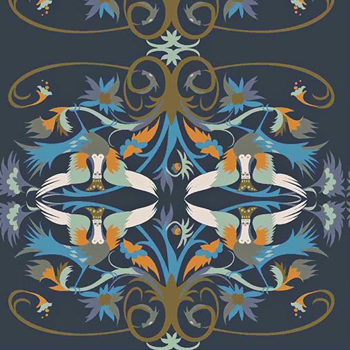 Анна Чапман интервью, орнамент птица сирин