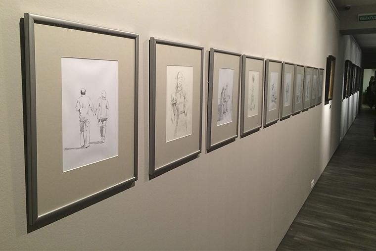 Андрей Есионов, выставка, акварель, Московский музей современного искусства