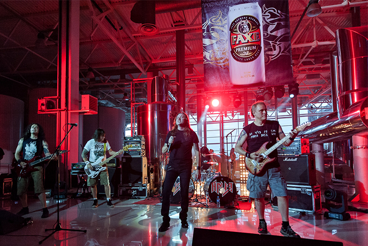 Ария концерт на заводе пиво Faxe
