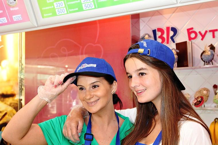 Екатерина Стриженова с дочерью