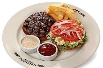 Бургер GOODMAN из мраморной говядины с крабом