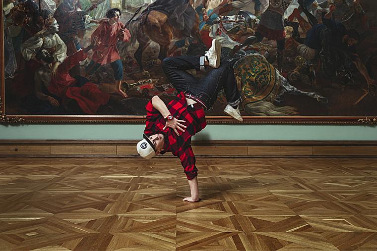 Casio G-SHOCK, новый лукбук, Третьяковская галерея