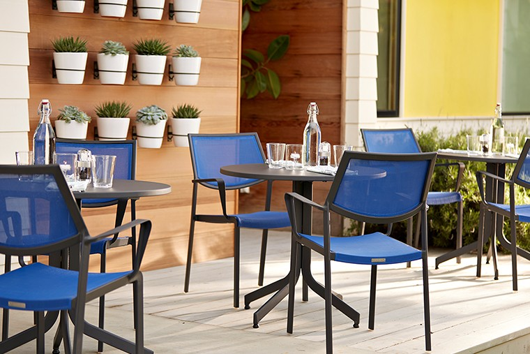 Crate and Barrel Outdoor LargoCollection in5