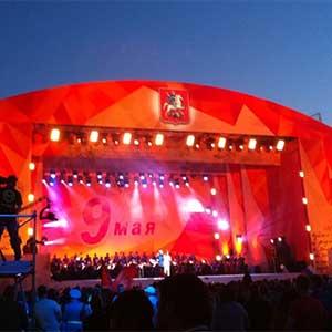 День Победы 2015 в Москве Праздничный концерт Поклонная