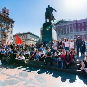 День Победы 2015 в Москве тверская площадь