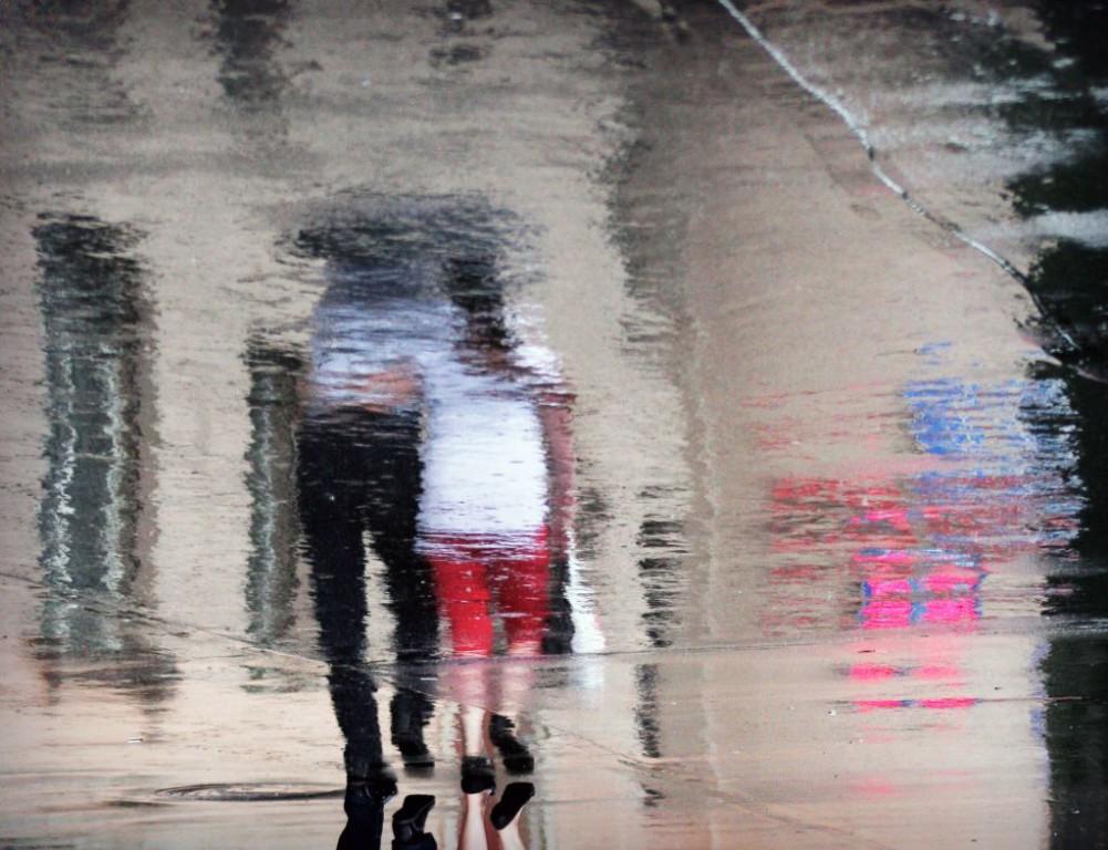 «Двое под зонтом»