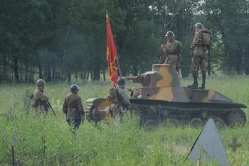 Эклектик-моторы-воины-танк