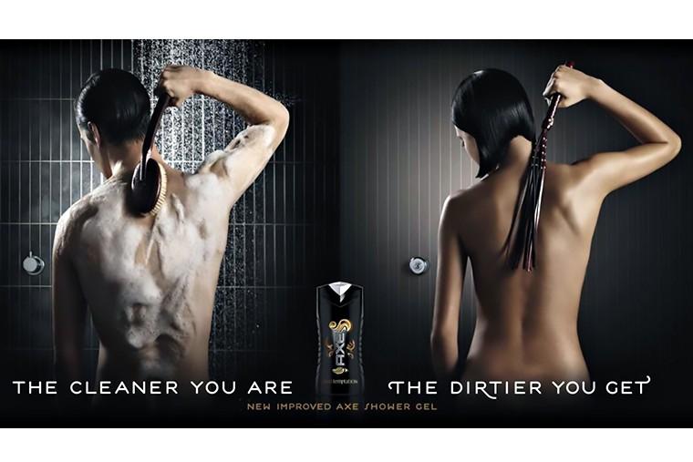 Эротика и секс в рекламе AXE 2 in