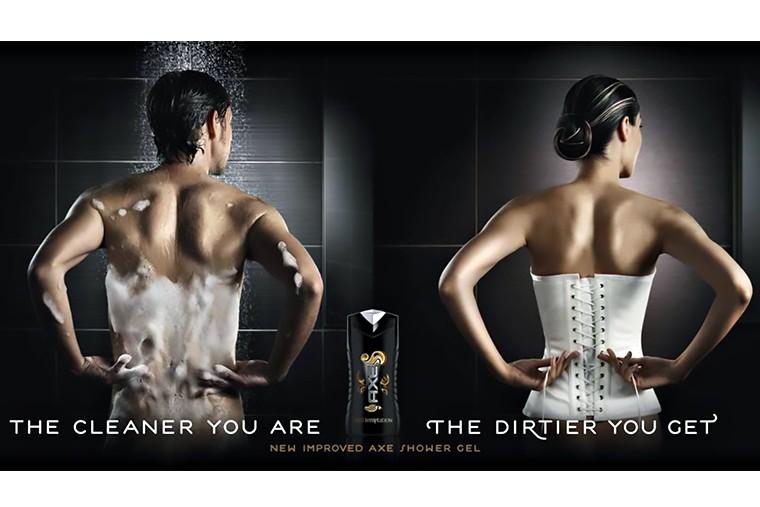 Эротика и секс в рекламе AXE 3 in