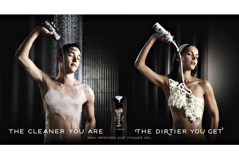 Эротика и секс в рекламе AXE in