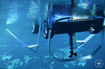 Eclectic splash pod vodu