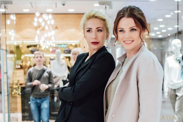 Екатерина Одинцова и Екатерина Вуличенко