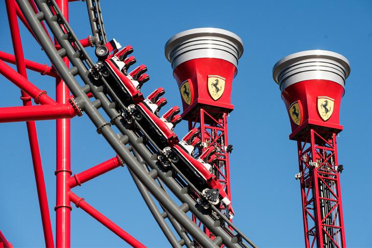 Ferrari Land_PortAventura World in