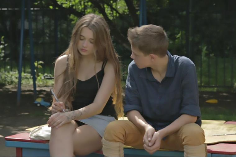 Русские подростки занимаются сексом ролики