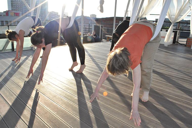 Фитнес на крыше Eclectic in2