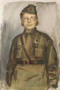 Фронтовой рисунок ГИМ Е.П. Андреева