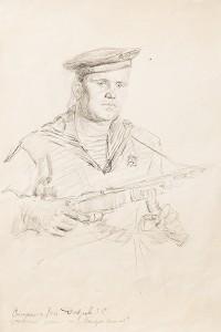 Фронтовой рисунок ГИМ ИС 1135