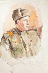 Фронтовой рисунок ГИМ  М. Воронцов