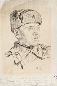 Фронтовой рисунок Павел Иванов in
