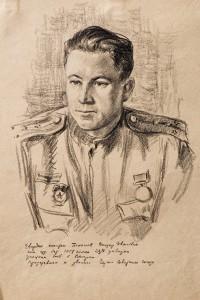 Фронтовой рисунок Виктор Поленов in