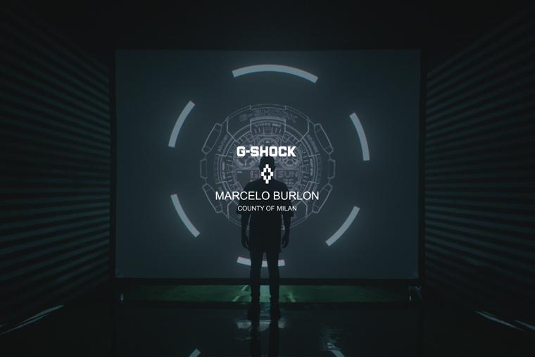 Casio G-SHOCK, универмаг цветной, Марсело Бурлон, дизайнер, новая модель, часы