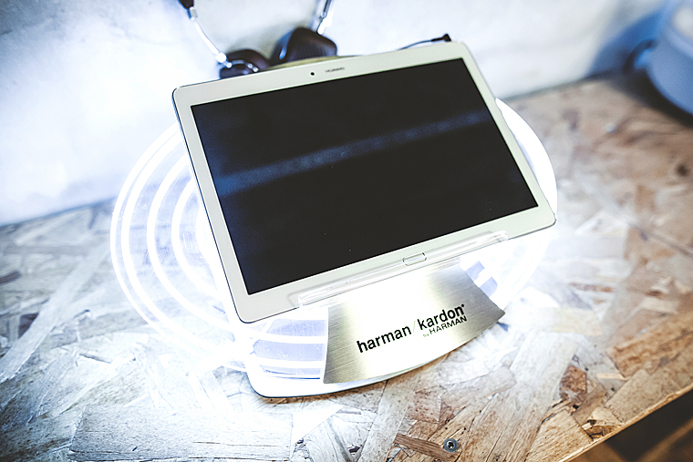 HARMAN, Sound Up, Huawei MediaPad, Piano Interrupted