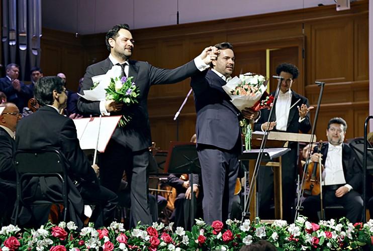 Концерт Абдразакова и Ладюка in4