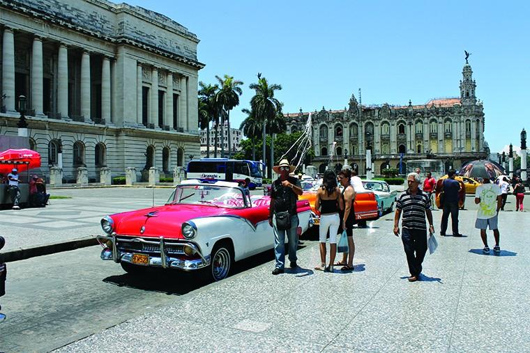 Куба остров свободы авто in2