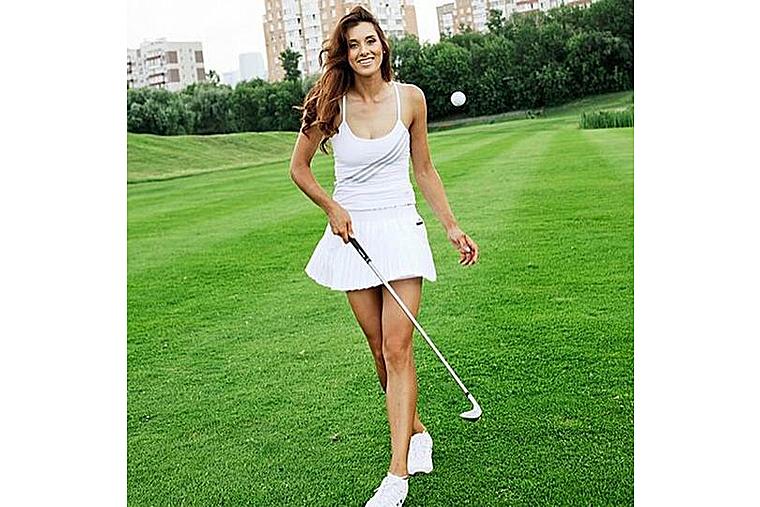 Мария Верчёнова, интервью, гольф