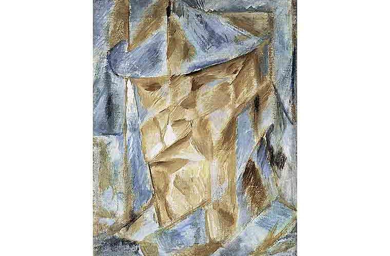Михаил Ле Дантю. Портрет актера. 1912 г. Ярославский художественный музей
