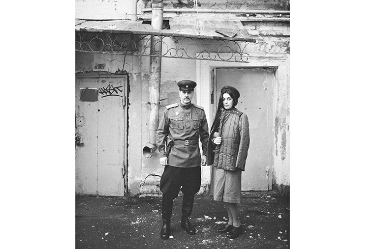 Михаил Опенгейм и Люсинэ Петросян в проекте «Война участвует во мне»