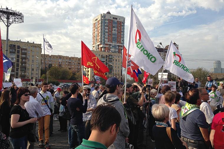 Митинг против застройки парков in4