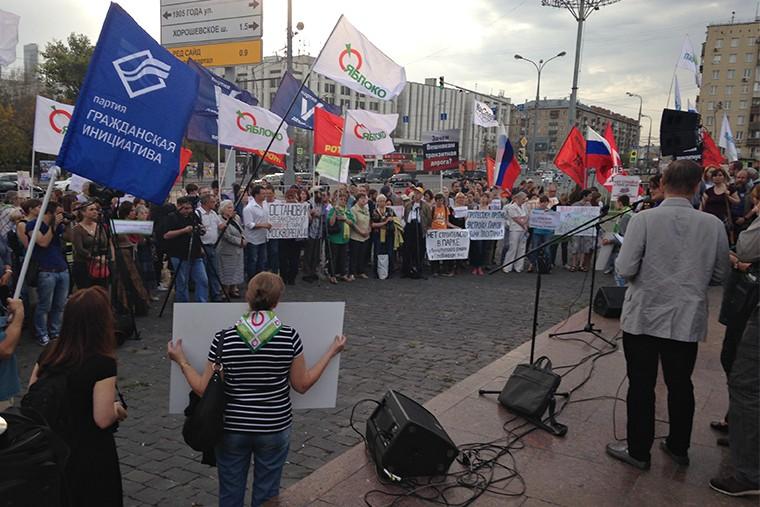 Митинг против застройки парков in9