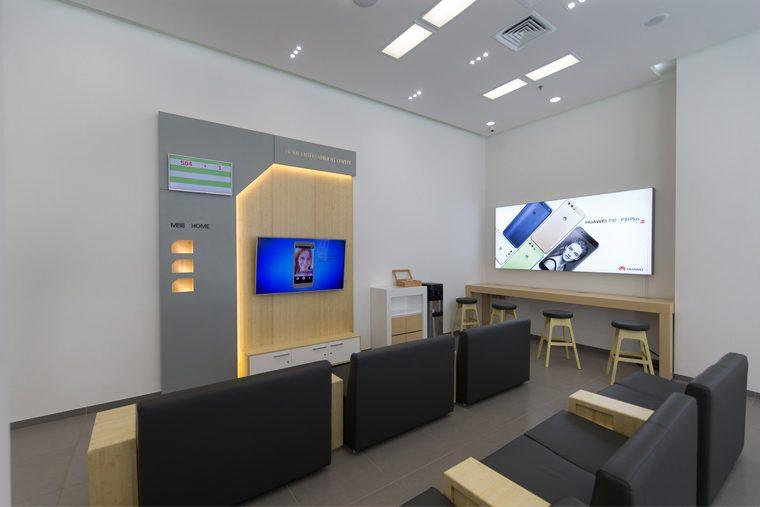 Многофункциональный центр Huawei in