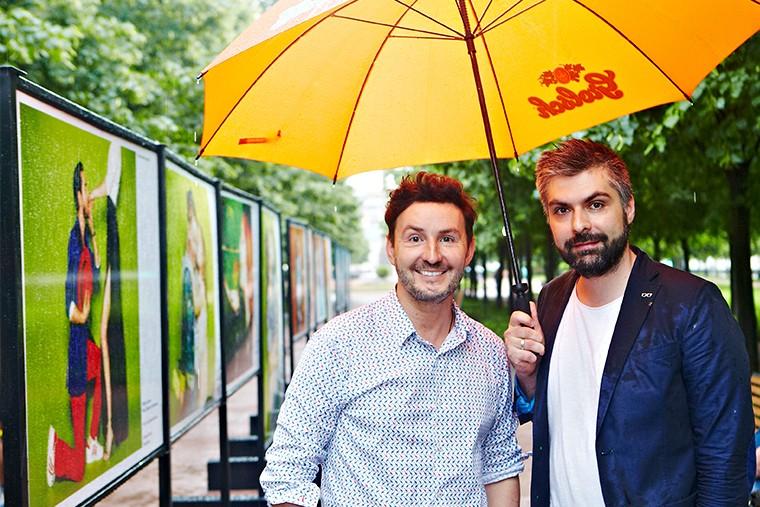 Фотографы Владимир Широков и Дмитрий Исхаков