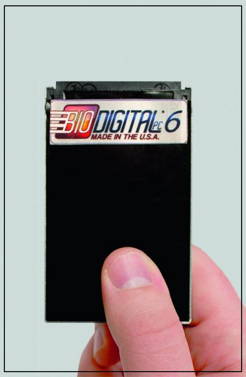 ПК размером с кредитную карту BioDigital PC