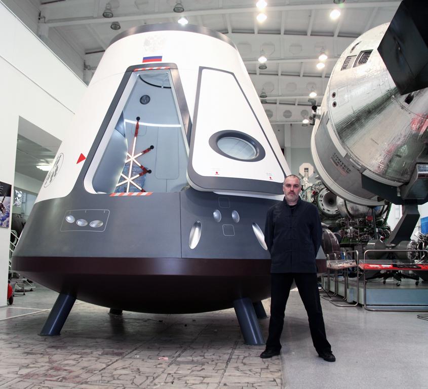 Работа совместно с РГК «Энергия» над космическим кораблем нового поколения