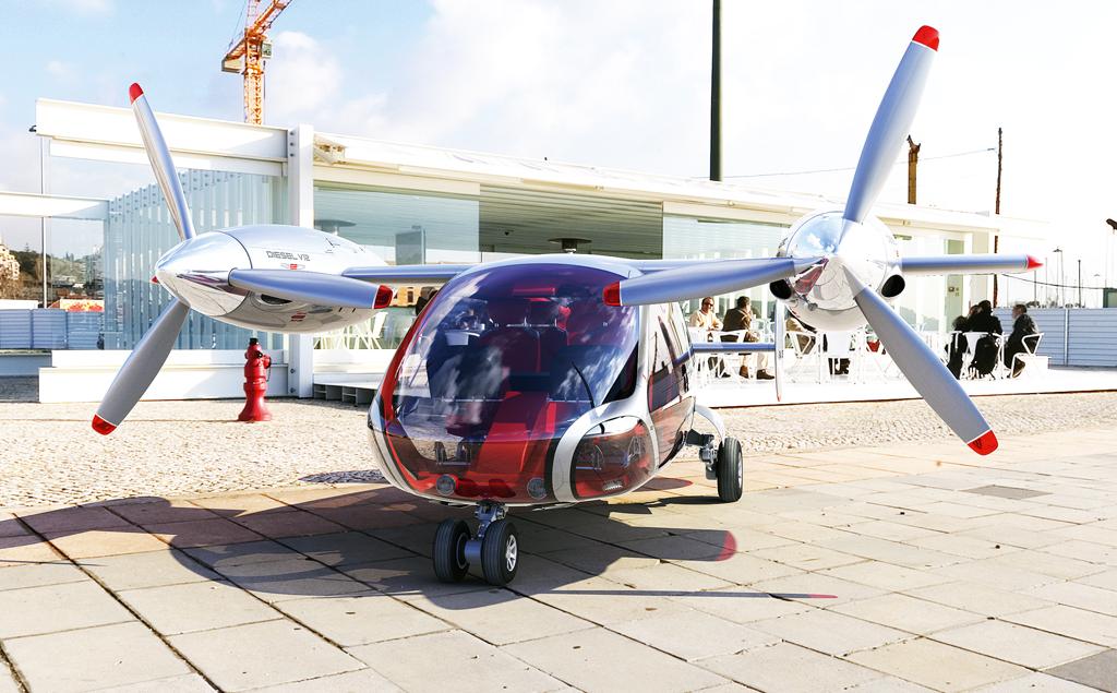 Проект маленького дизельного самолета Aero-G