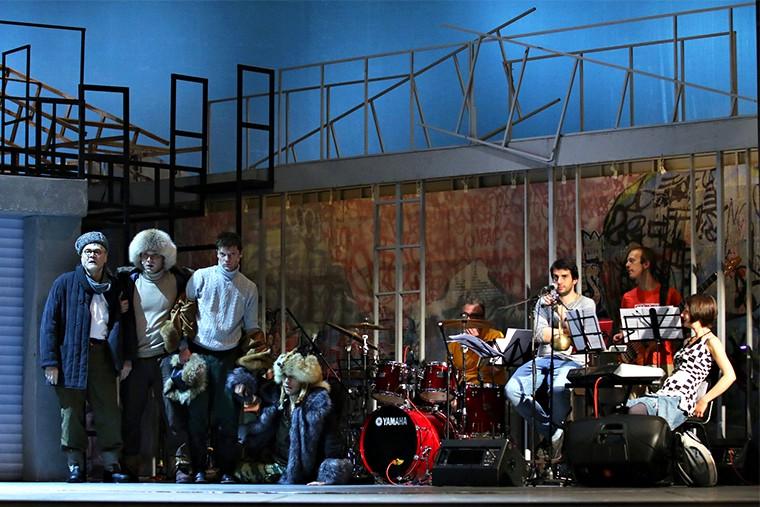 РАМТ новый спектакль Северная Одиссея in2
