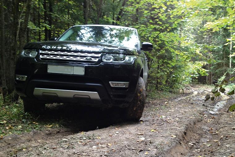 RR Sport не спасовал и на лесных дорогах