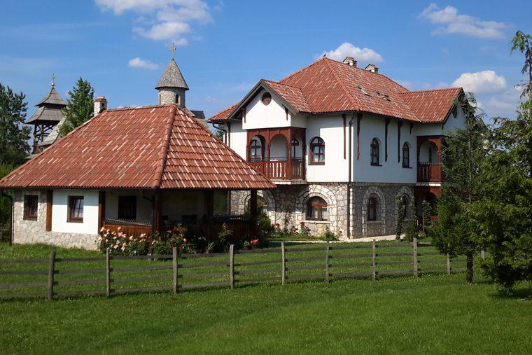 Республика Сербская Этно-село Станишичи 1