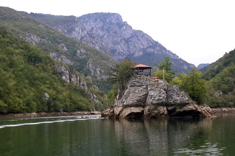Республика Сербская Каньон реки Дрина 2